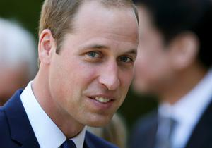 Britain's Prince William arrives to open the Dickson Poon University of Oxford China Centre, in Oxford