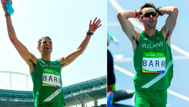 Thomas Barr finished in fourth place in Rio