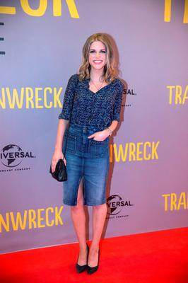 Amy Huberman at the Irish Premiere of Trainwreck at the Savoy in Dublin. Picture:Arthur Carron