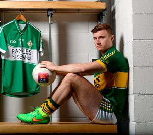 Kerry's James O'Donoghue allayed injury fears at the launch of AIB's sponsorship of the GAA Football All-Ireland Senior Championship yesterday