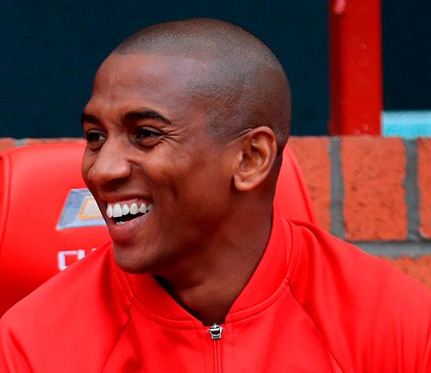 Manchester United's Ashley Young. Photo: Mike Egerton/PA Wire.