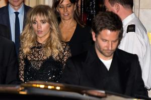 Suki Waterhouse attends the Downing Street reception hosted by Samantha Cameron during London Fashion Week