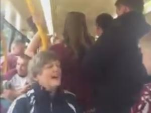 Galway fans were in fine voice this afternoon