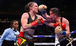 Katie Taylor will needs to use her boxing skills to avoid another brawl with Belgium's Define Persoon