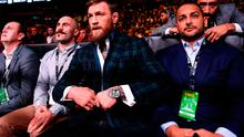 Conor McGregor in attendance at the TD Garden