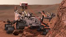The first hints of life on Mars have been discovered by Nasa, scientists have revealed.