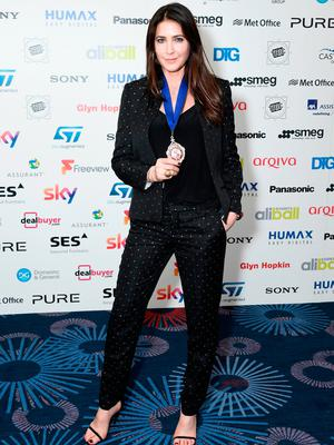 Lisa Snowdon during the TRIC Awards 2017 at the Grosvenor House Hotel on March 14, 2017 in London, England.  (Photo by Gareth Cattermole/Getty Images)
