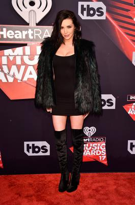 TV personality Scheana Marie attends the 2017 iHeartRadio Music Awards which broadcast live on Turner's TBS, TNT, and truTV at The Forum on March 5, 2017 in Inglewood, California.  (Photo by Alberto E. Rodriguez/Getty Images)