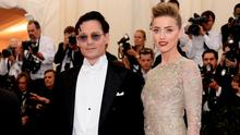 Actors Johnny Depp and Amber Heard  (Photo by Dimitrios Kambouris/Getty Images)