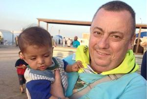 British man Alan Henning, a 47-year-old former cab driver from the Manchester area, currently held hostage by IS militants. Photo: Family Handout/PA Wire