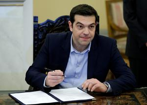 The new Greece of Alexis Tsipras will run out of money by early March (AP Photo/Thanassis Stavrakis)