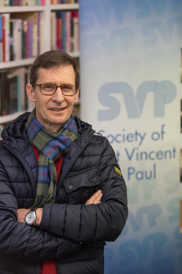 Kieran Stafford, the new president of the St Vincent de Paul. Picture: Andy Jay