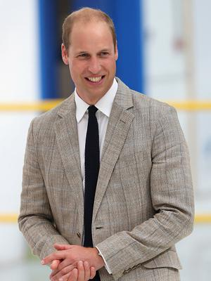 Prince William, Duke of Cambridge visits Hayward Tyler on August 24, 2016 in Luton, England.  (Photo by Chris Jackson/Getty Images)