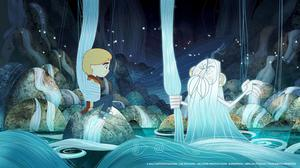 Still from Irish animation Song of the Sea which has been nominated for an Oscar