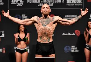 Conor McGregor takes on Dustin Poirier in a rematch of the Dubliner's win early in his UFC career. Photo by Jeff Bottari/Zuffa LLC/Getty Images via Sportsfile
