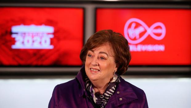 Irish Social Democrats politician Catherine Murphy during a seven way leaders General Election debate at the Virgin Media Studios in Dublin, Ireland. PA Photo. Picture date: Thursday January 30, 2020. Photo credit should read: Niall Carson/PA Wire