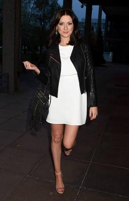 Jennifer Maguire at The Late Late Show