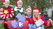 Karen Koster, Brian McFadden, and Jedward get into the festive spirit ahead of The Christmas Toy Show on TV3