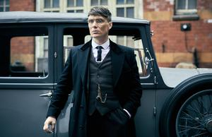 Long drama: 'Peaky Blinders' lead Cillian Murphy, in a scene from the popular show which, it was claimed in court, Octagon had a role in producing