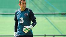 Ireland goalkeeper David Forde was close to giving up the game to play gaelic football instead. Photo: Pat Murphy / SPORTSFILE
