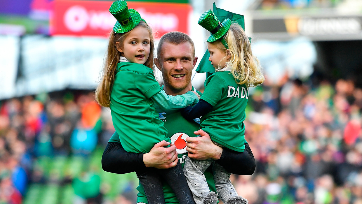 Keith Earls thanks public for over €22,000 in donations to Barnardos Ireland