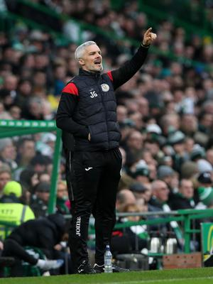 Jim Goodwin, Manager of St Mirren. Photo by Ian MacNicol/Getty Images