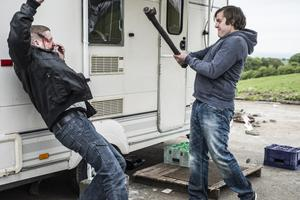 Love/Hate Series 5 Episode 5 Ian Lloyd Anderson as Dean and Peter Coonan as Fran RTÉ One Sunday November 2nd