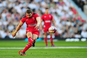 Leigh Halfpenny could be set for a return to playing his club rugby in Wales after Toulon owner Mourad Boudjellal threatened to cancel his contract with the French outfit. Photo: Stu Forster/Getty Images
