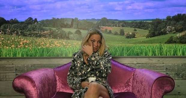 Sarah Harding on Celebrity Big Brother. Image: Channel 5