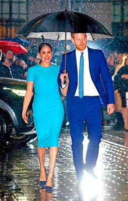 : Prince Harry, Duke of Sussex and Meghan, Duchess of Sussex attend The Endeavour Fund Awards at Mansion House on March 05, 2020 in London, England. (Photo by Chris Jackson/Getty Images)