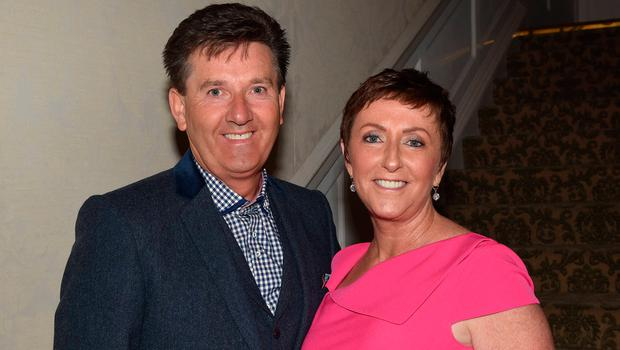 Daniel O'Donnell and Majella O'Donnell at the Marie Keating Foundation Lunch 2015