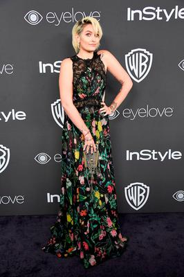Paris Jackson attends the 18th Annual Post-Golden Globes Party hosted by Warner Bros. Pictures and InStyle at The Beverly Hilton Hotel on January 8, 2017 in Beverly Hills, California.  (Photo by Frazer Harrison/Getty Images)