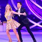 Joe Swash and Alexandra Schauman in Dancing On Ice (Ian West/PA)