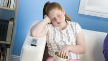 Research has shown that overweight children have a 70-80pc chance of staying overweight their entire lives