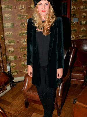 Aoibhin Garrihy at the launch of Ryan Tubridy's book 'The Irish Are Coming' in 2013