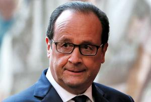 French President Francois Hollande hit a new low in the opinion polls - he was already the least popular president in modern history, and a new IFOP poll yesterday showed that his score had dropped another percentage point to 13pc (REUTERS/Gonzalo Fuentes)