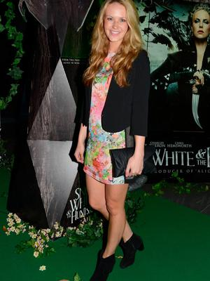 Aoibhin Garrihy at the Irish Premiere of Show White and the Huntsman in 2012