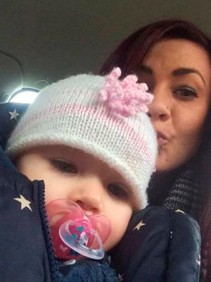 Ruth Melling and daughter Lola Jane Nagle