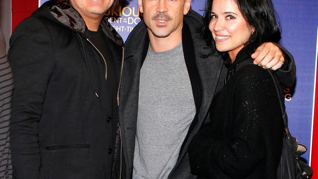 Eamon, Colin and Claudine
