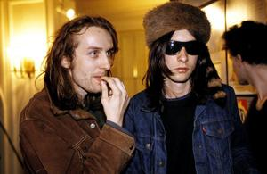 Bobby Gillespie and Robert 'Throb' Young