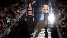 Models present creations from the Tom Ford Spring/Summer 2015 collection