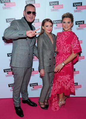 Tony McGregor, Taylor McGregor and Erin McGregor at the the inaugural Xposé Benefit Awards. Picture: Brian McEvoy