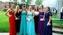 St. Kevin's Community College, Dunlavin Debs. Photo Joe Byrne