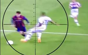 Taken down: Lionel Messi runs rings around Jerome Boateng