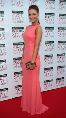 Laura Scanlon on the Red Carpet at The Peter Mark VIP Style Awards 2015 at The Marker Hotel,Dublin. Pictures Brian McEvoy