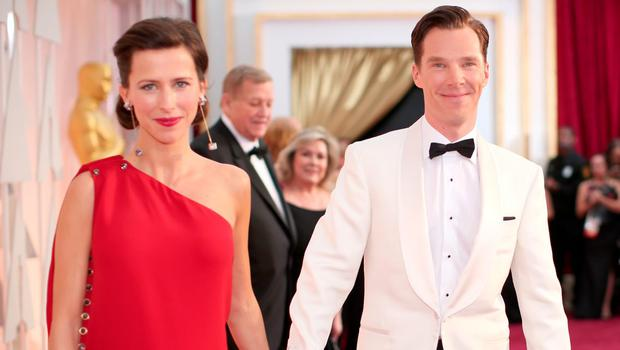 Director Sophie Hunter and actor Benedict Cumberbatch wed in England on Valentine's Day.
