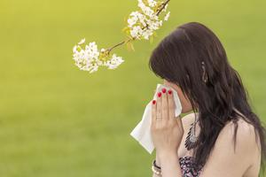 Bless you: It is essential to be considerate of others when sneezing as it could spread the virus. Stock picture