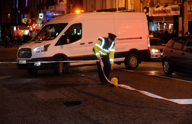 March 31: Dublin sink hole mystery: A nineteenth century brothel is suspected to have caused traffic chaos in Dublin after a hole opened in the middle of a city street. Dublin's Dame Street was brought to a halt when a two-foot section of the road collapsed.