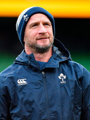 'I'm excited to see what Mike Catt can bring to Ireland's attack.' Photo: Seb Daly/Sportsfile