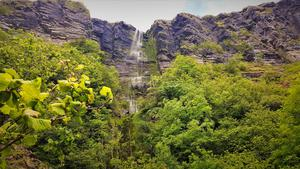 Natural wonder: Devil's Chimney, Co Sligo